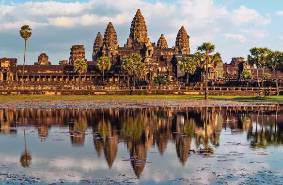 Chrámový komplex Angkor Wat, Kambodža