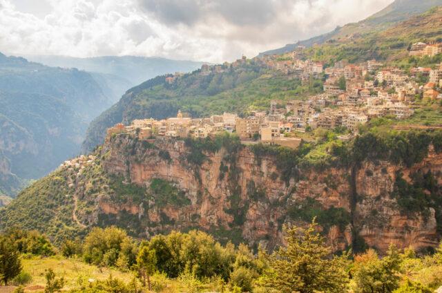 Údolí Kadíša, Bšarré, Libanon
