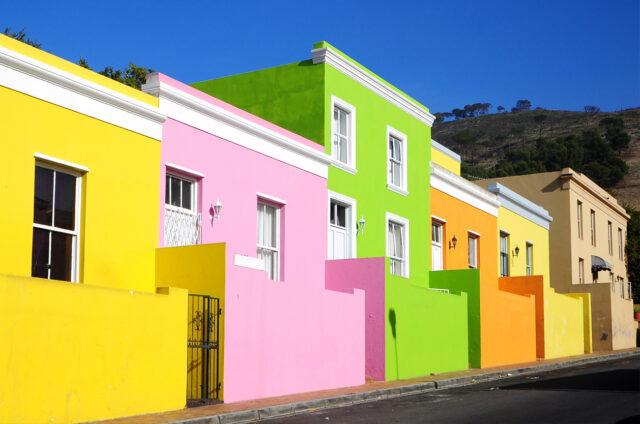 Čtvrť Bo-Kaap, Kapské Město, JAR
