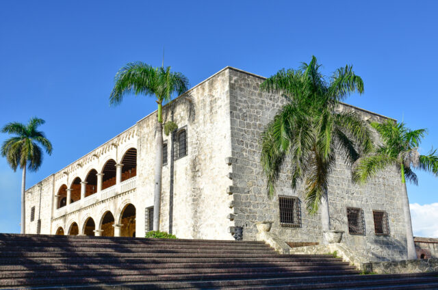 Alcazar de Colon, Santo Domingo, Dom. republika
