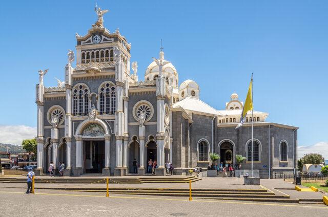 Bazilika Panny Marie Andělské - Cartago, Kostarika
