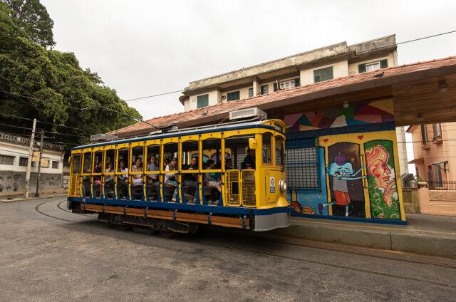Bohémská čtvrť Santa Teresa, Rio de J., Brazílie