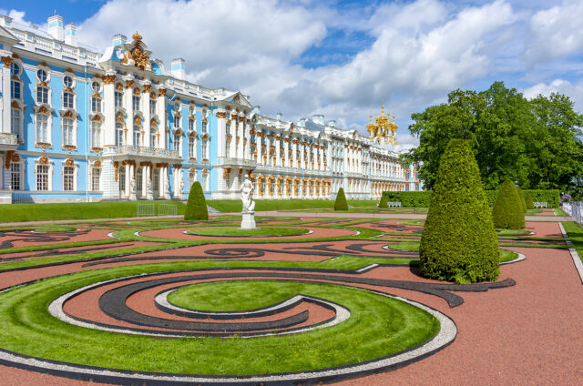 Carskoje Selo - Kateřinský palác, Rusko