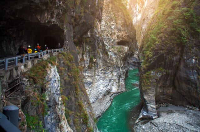 Cesta kaňonem, N.P. Taroko, Tchaj-wan