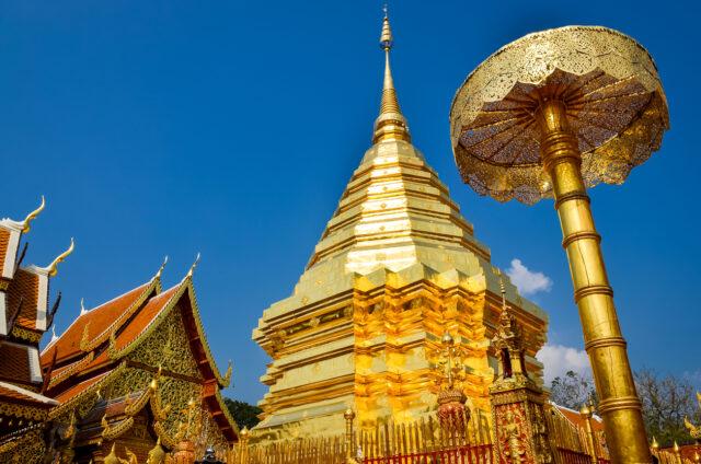 Chrám Doi Suthep, Chiang Mai, Thajsko