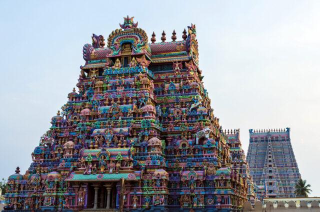 Chrámový komplex Šrírangam, Indie