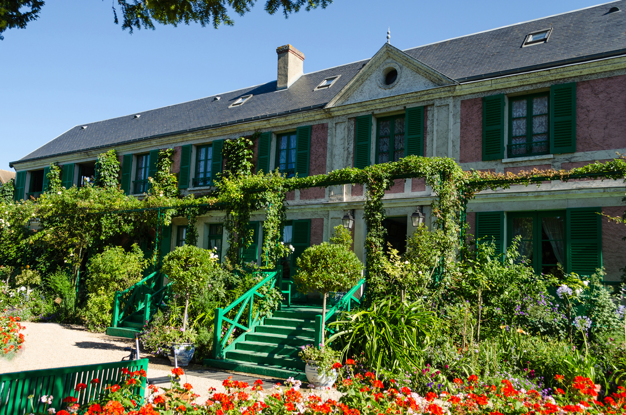 Dům malíře Claude Moneta v Giverny