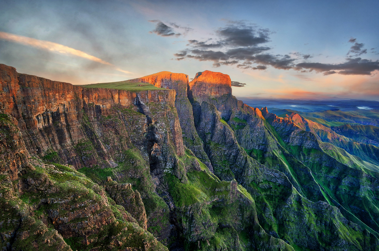 Dračí hory, Lesotho