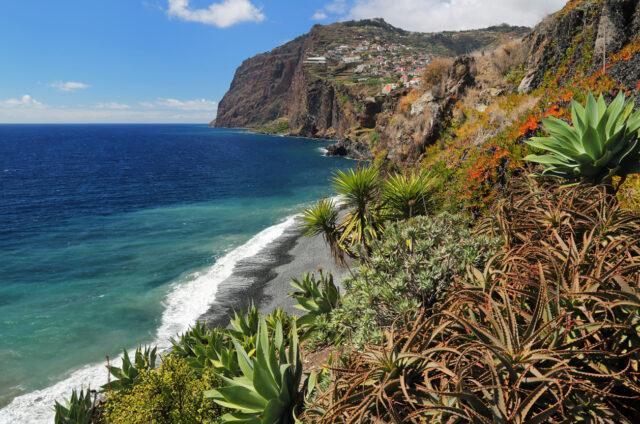 Druhý nejvyšší útes světa Cabo Girao, Madeira