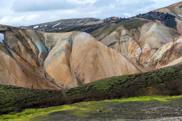 Duhové hory ve vnitrozemí, Landmannalaugar, Island