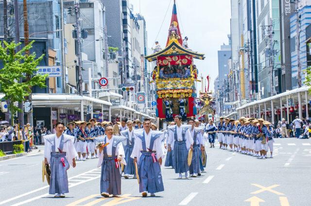 Festival Gion, Kjóto, Japonsko