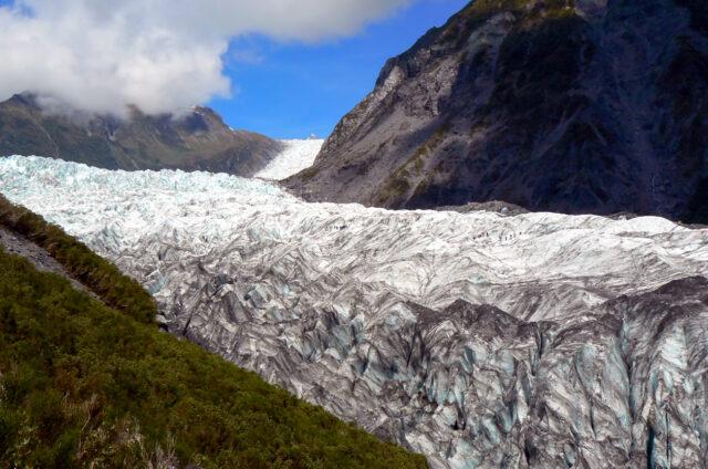 Fox Glacier, Jižní ostrov, Nový Zéland