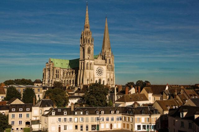 Gotická katedrála Chartres (UNESCO)
