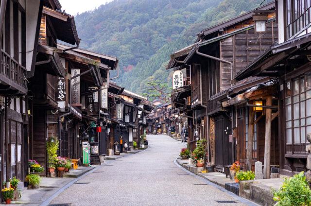 Historická stezka, Nakasendó, Japonsko