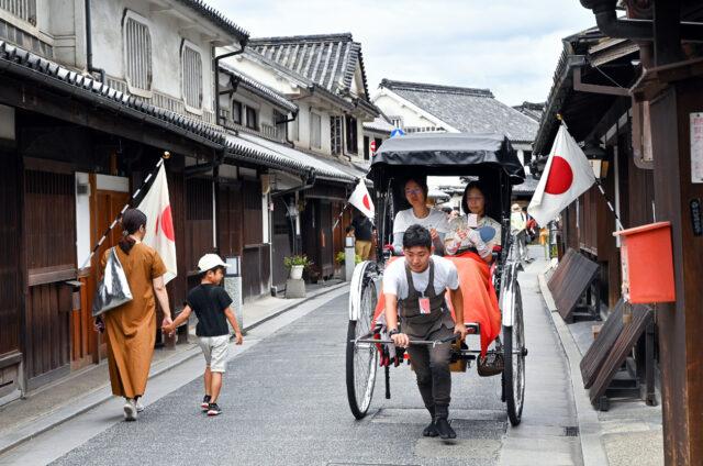 Historické Kurašiki, Okajama, Japonsko