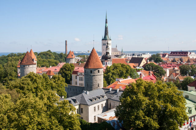 Historické centrum Tallinu s hradbami, Estonsko