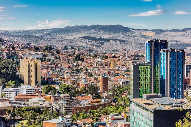 Hlavní město Bogotá, Kolumbie