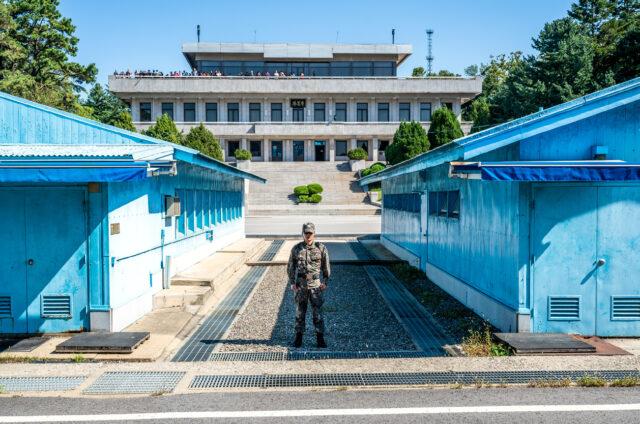 Hranice v Pchanmundžomu, Korea