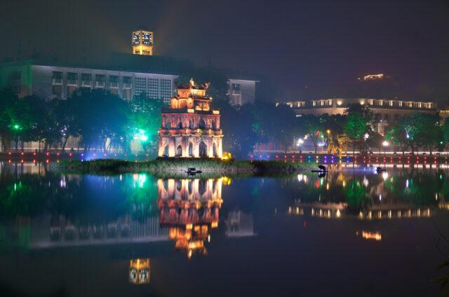 Jezero Hoan Kiem, Vietnam