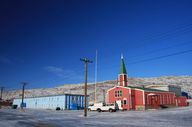 Kangerlussuaq kostel, Grónsko