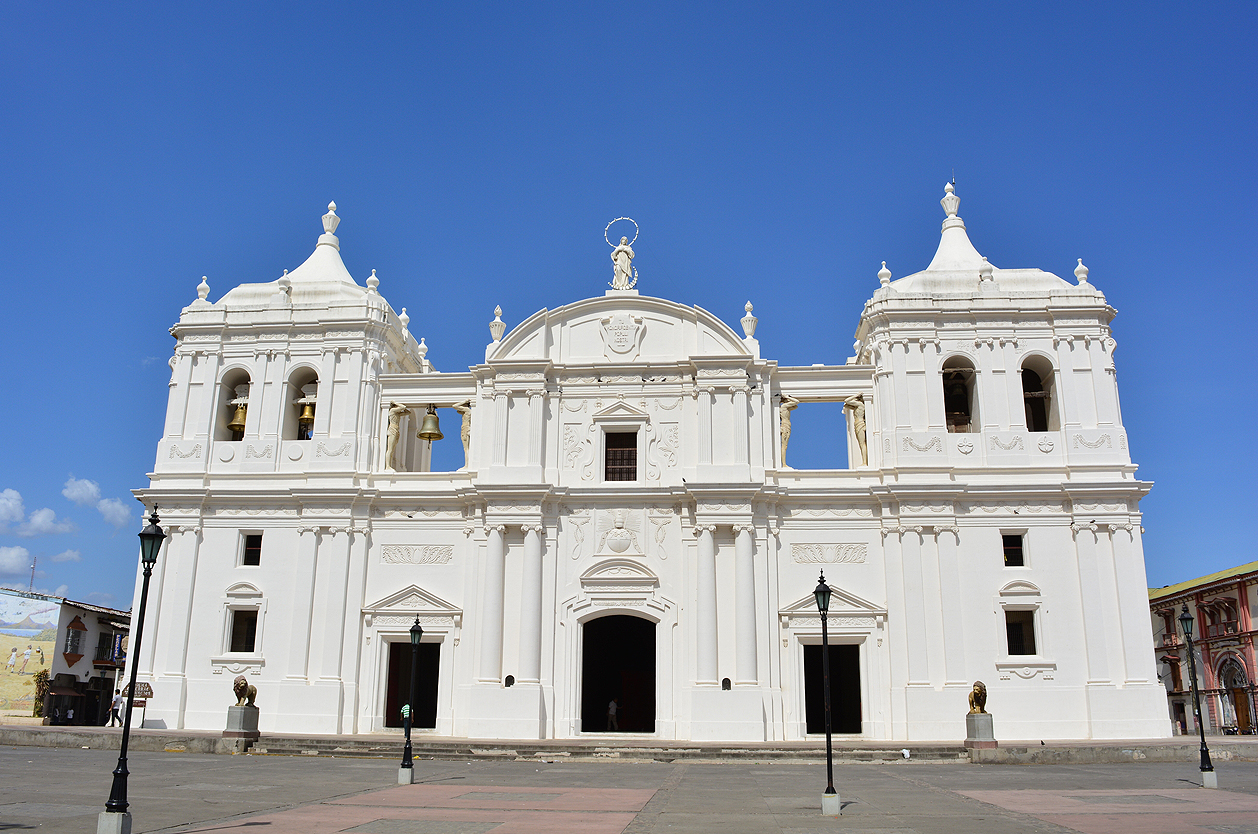 Katedrála v univerzitním Leonu, Nikaragua