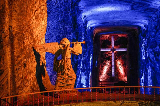 Katedrála ze soli, Zipaquirá, Kolumbie