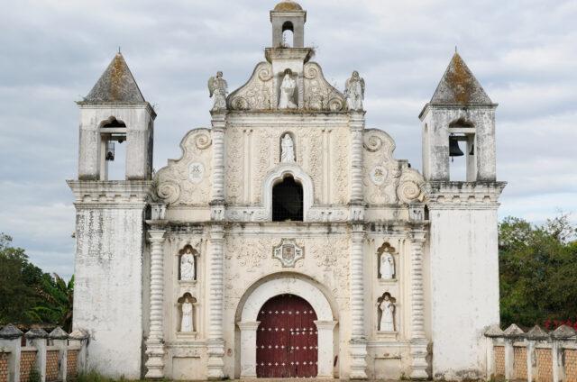Koloniální kostel La Merced, Honduras