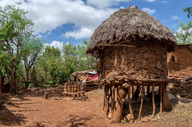 Konso (UNESCO), domorodá vesnice, Etiopie