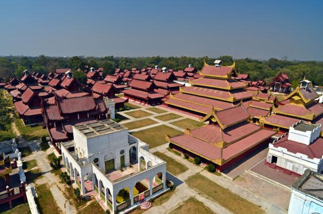 Královský palác, Mandalay, Barma