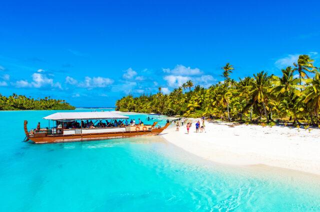 Laguna v Aitutaki, Cookovy ostrovy