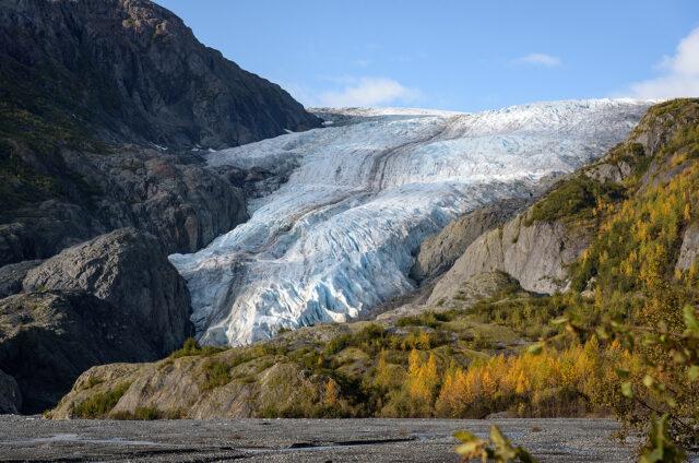 Ledovec Exit N.P., Seward, Aljaška, USA