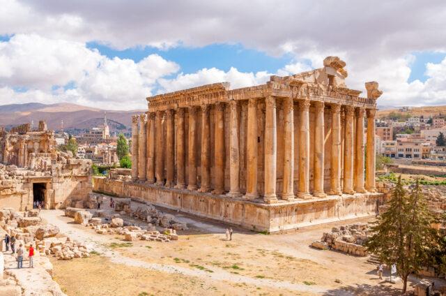 Legendární antický Baalbek, Libanon