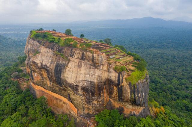 Lví skála s palácem, Sigiriya, Srí Lanka