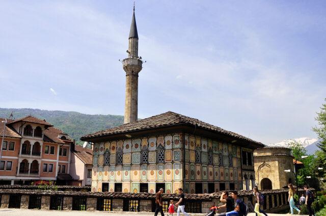 Malovaná mešita, Tetovo, Severní Makedonie