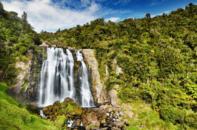 Marokopa Falls, Severní ostrovy, N.Zéland