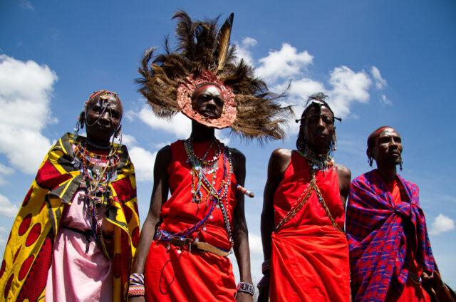 Masajští válečníci, Keňa