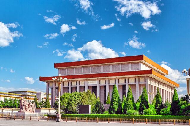 Mauzoleum Mao Ce-Tunga v Pekingu, Čína