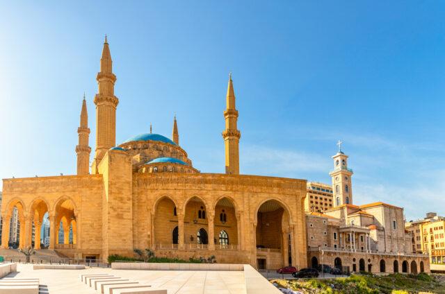 Mešita a katedrála, Bejrút, Libanon