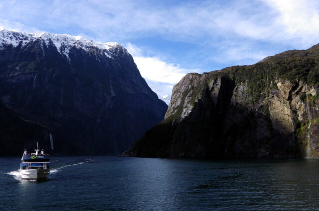 Milford Sound, Jižní ostrov, Nový Zéland