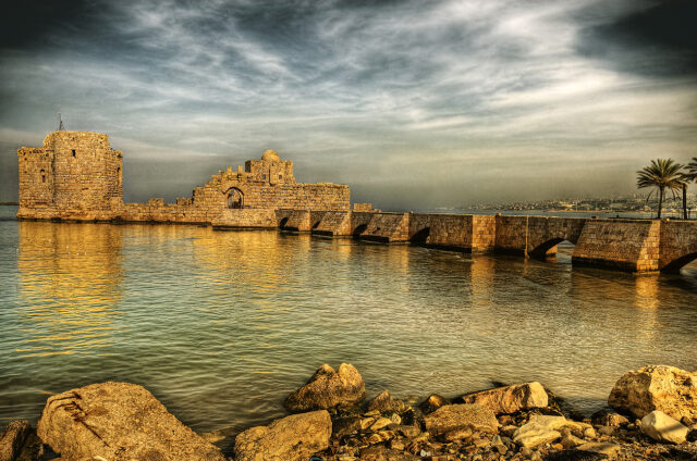 Mořský palác, Sidón, Libanon