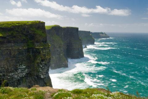 Moherské útesy, Irsko