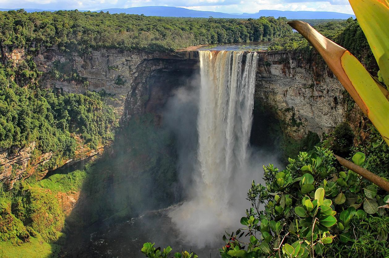 Mohutný vodopád Kaieteur, Guyana