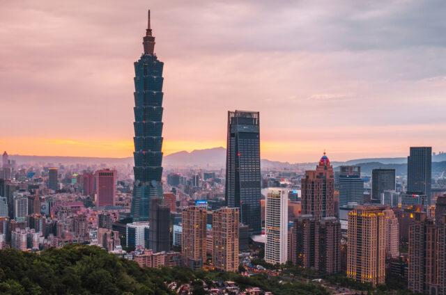 Mrakodrap Taipei, Tchaj-wan
