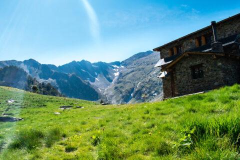 Nedotčená příroda v parku Comapedrosa, Andorra
