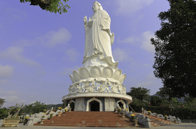 Nejvyšší socha Buddhy, Linh Ung, Vietnam