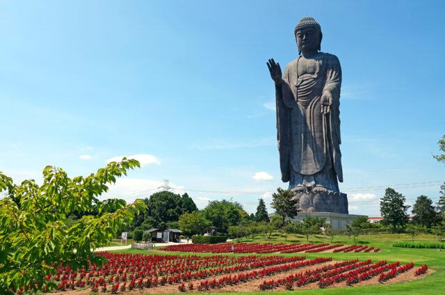 Nejvyšší socha Japonska, Ušiku, Japonsko
