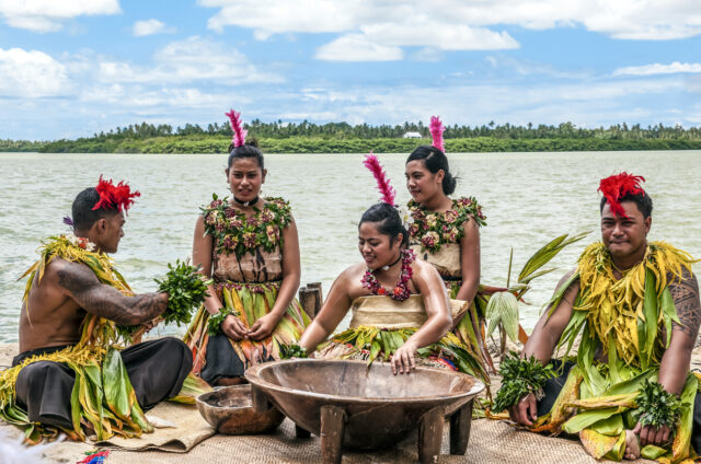 Obřad pití kavy, Niku´alofa, Tonga