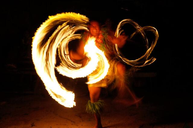 Ohňový tanec, Tongatapu, Tonga