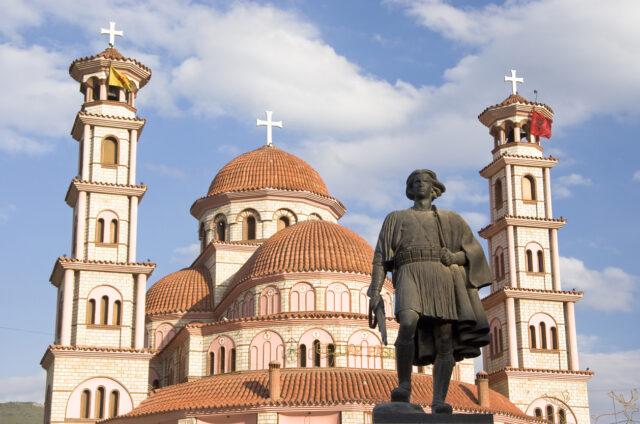 Ortodoxní kostel, Korča, Albánie
