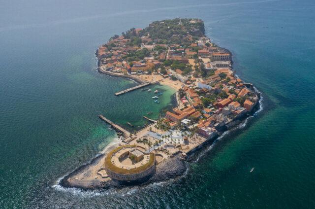 Ostrov Ile de Gorée, Senegal